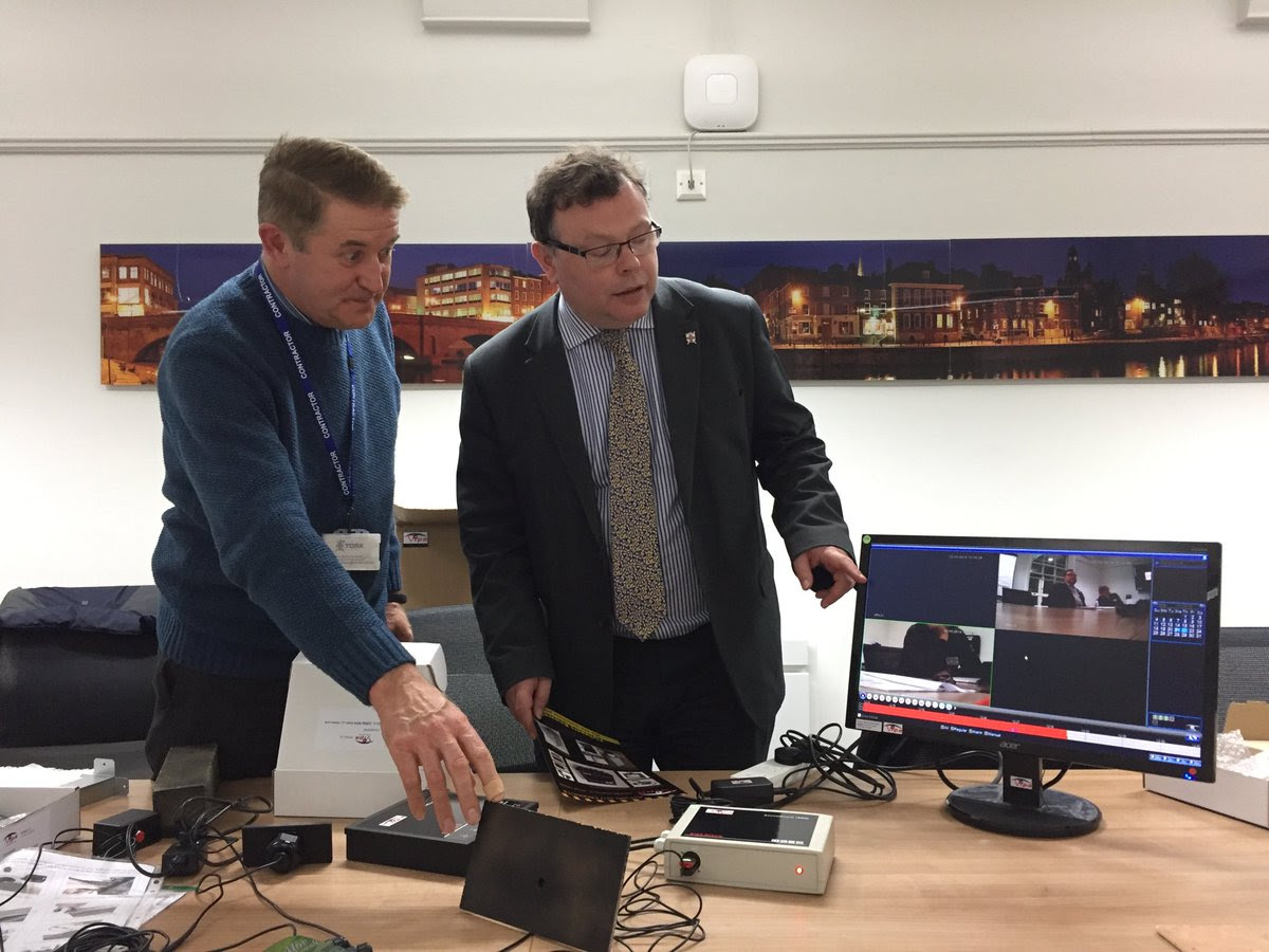A presentation from Vipa UK on equipment to Westfield Ward